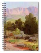 On The Chinle Trail Spiral Notebook