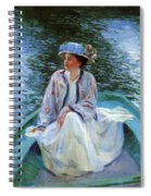 On The River Edge 1910 Spiral Notebook
