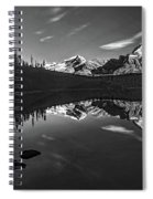 On The Trail Bw Spiral Notebook