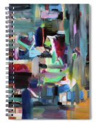 On The Way To Yerushalyim Spiral Notebook