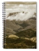 Oncoming Rains Spiral Notebook