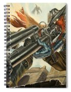 One Bullet, One Kill Spiral Notebook