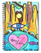 One Love One Earth Spiral Notebook