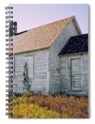 One Room Schoolhouse 1  Spiral Notebook