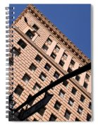 One Way Golden Architecture  Spiral Notebook