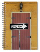 One Way, Love Spiral Notebook
