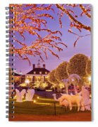 Opryland Hotel Christmas Spiral Notebook