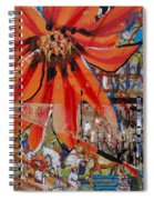 Orange Released Spiral Notebook