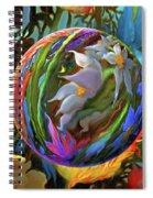 Orbing Aloha Lei Spiral Notebook