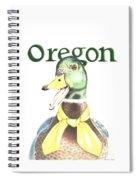 Oregon Duck Spiral Notebook