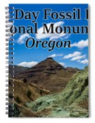 Oregon - John Day Fossil Beds National Monument Blue Basin Spiral Notebook