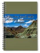 Oregon - John Day Fossil Beds National Monument Blue Basin Spiral Notebook