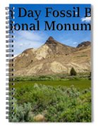 Oregon - John Day Fossil Beds National Monument Sheep Rock 1 Spiral Notebook