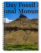 Oregon - John Day Fossil Beds National Monument Sheep Rock 2 Spiral Notebook