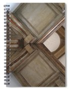Wood Ornament Spiral Notebook