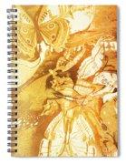 Ornamental Spring Spiral Notebook