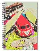 Ornamenting Hawaii Spiral Notebook