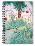 Out Of Eden Spiral Notebook