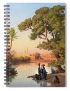 Outskirts Of Cairo Spiral Notebook