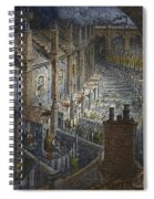 Over London By Rail From London, A Pilgrimage Spiral Notebook