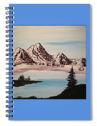 Overlooking The Lake Spiral Notebook