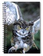 Owls Mascot 2 Spiral Notebook