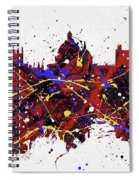 Oxford Colorful Skyline Spiral Notebook