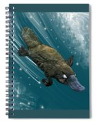 P Is For Platypus Spiral Notebook