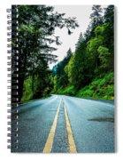 Pacific Northwest Road Spiral Notebook