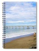 Pacifica Municipal Pier - California Spiral Notebook