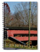 Painted Bridge At Chads Ford Pa Spiral Notebook