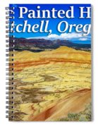 Painted Hills 01 Spiral Notebook