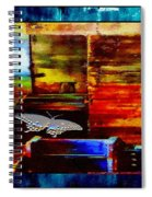 Painted Shadows Of A Different Love And Time Spiral Notebook