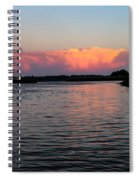 Painted Sunset Spiral Notebook