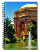 Palace Of Fine Arts Lagoon Spiral Notebook