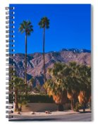 Palm Springs California Spiral Notebook