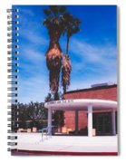 Palm Springs City Hall Spiral Notebook