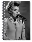 Paloma Faith Live At Manchester Apollo 2013 January 24th Spiral Notebook