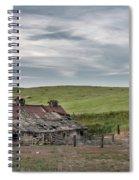 Palouse Barn 9907 Spiral Notebook