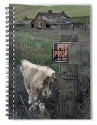 Palouse Barn 9916 Spiral Notebook