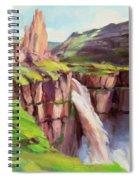 Palouse Falls Rush Spiral Notebook
