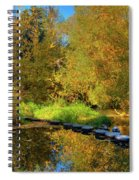 Palouse River Reflections Spiral Notebook
