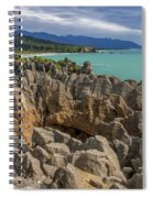 Pancake Rocks - New Zealand Spiral Notebook