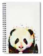 Panda Watercolor Spiral Notebook