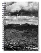 Panorama Melodrama Spiral Notebook