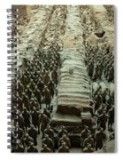 Panorama Of Pit 1, Terra Cotta Warriors Spiral Notebook