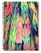 Paper Cranes Spiral Notebook