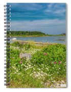 Paradise In Maine Spiral Notebook