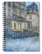 Paris, Rue Du Haut Pave 1866 Spiral Notebook