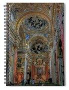 Parrocchia Santa Maria In Vallicella Spiral Notebook